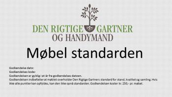 Møbel standard