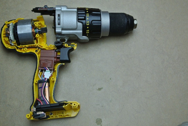 bore skruemaskinen reparation